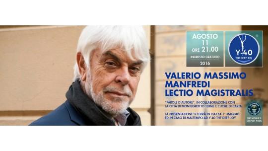 Valerio Massimo Manfredi a Montegrotto Terme
