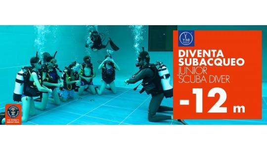 Y-40® The Deep Joy La piscina più profonda del mondo Corso Padi Junior Scuba Diver Montegrotto Terme Padova venezia Italia