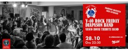 Y-40® Rock Friday DIAPASON, Vasco Rossi Tribute Band