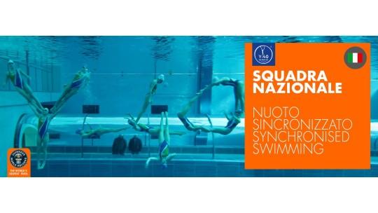 Squadra Nazionale di Nuoto Sincronizzato in Y-40®