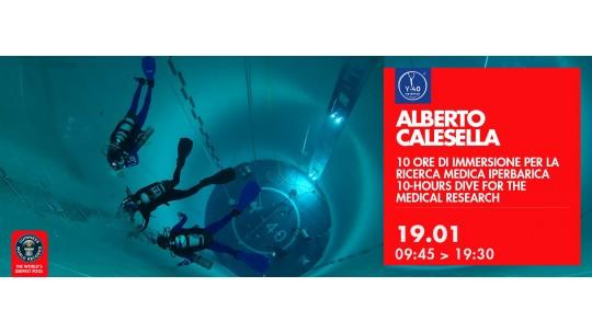 10 ore di immersione per la ricerca