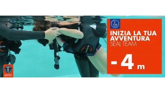 Corso Padi Seal Team in Y-40® The Deep Joy la piscina più profonda del mondo Montegrotto terme padova Venezia Italia