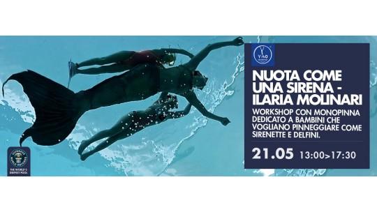 Nuota come una Sirenetta