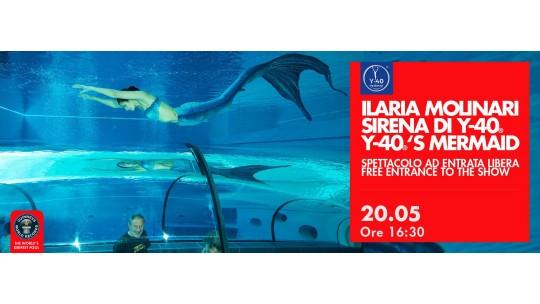 Show della Sirena Ilaria Molinari
