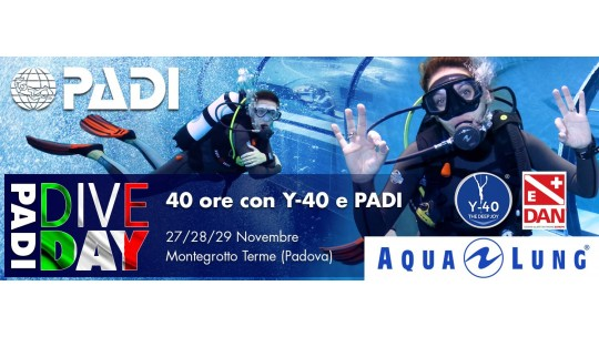 Aperto il Selfie Photo Contest in vista del PADI Dive Day ad Y-40