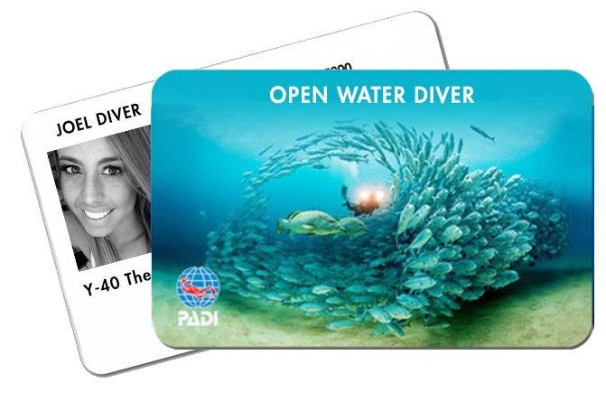 Scuba Course Padi Open Water Diver in Y-40® The Deep Joy Padua