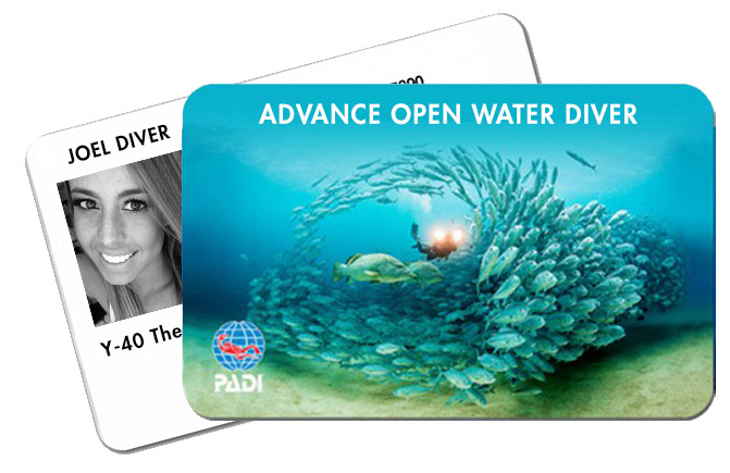 Scuba Course Padi Advanced Open Water Diver in Y-40® The Deep Joy Padua